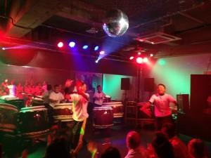 八女にオープンしたBADABOOMにて和太鼓ライブしてきました!